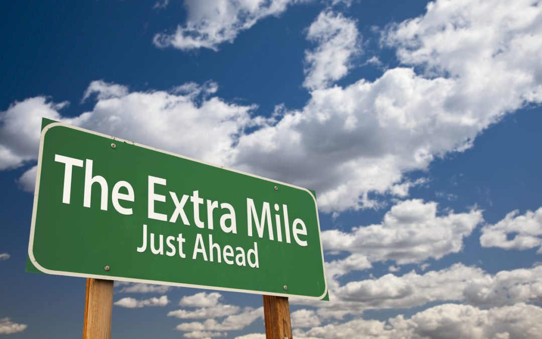 Are You Looking For Someone Who Can Go The Extra Mile?